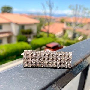 Jewelry - Double finger rhinestone ring